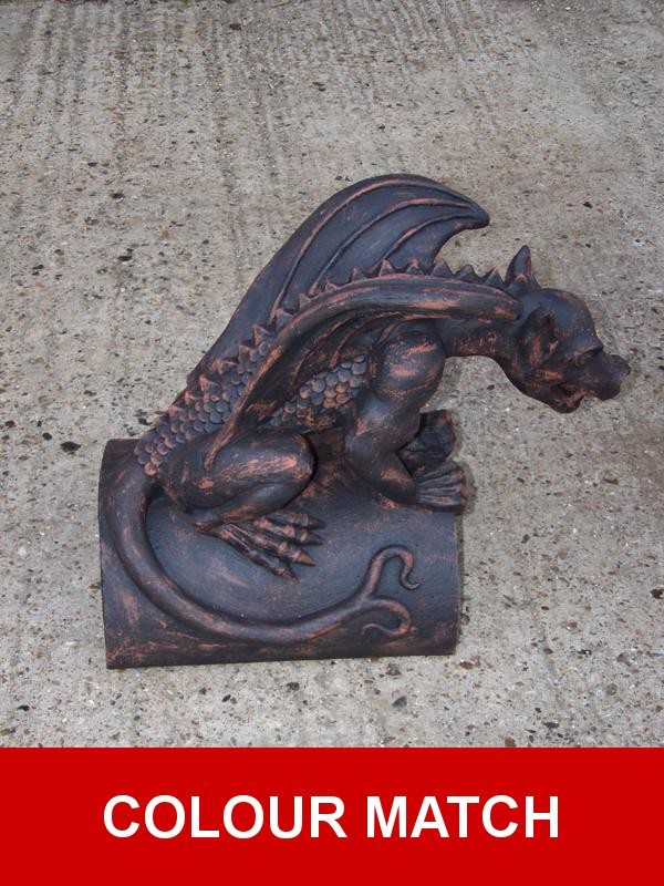Dragon Roof Tile Finial