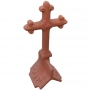 Angled tudor cross finial