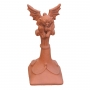 Block end gargoyle ridge finial