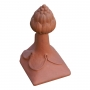 Block end grape ridge finial