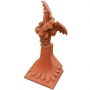 Block end ridge dragon finial
