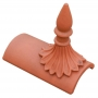 Colonial spike segmental finial