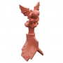 Column ridge gargoyle finial