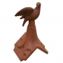 Dove roof finial