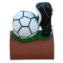 Handpainted football roof finial