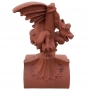 Ridgeback dragon crest finial