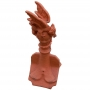 Mini roof dragon finial crest