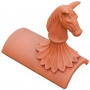 Stable horse segmental finial