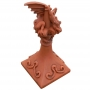 Ridge dragon spire roof finial