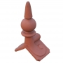 Small spike ball roof finial