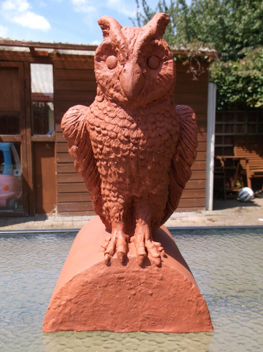 Owl Finial Stop End