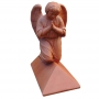 Block end angel finial