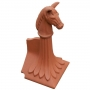 Block end horse finial