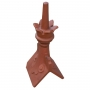 Castle scrolled crown finial