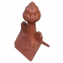 Castle scrolled grape finial