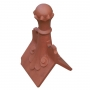 Castle scrolled old ball finial