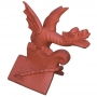 Oriental roof wyvern finial