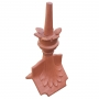 Column crown roof finial