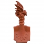 Column dragon finial crest