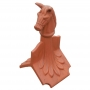 Column horse roof finial