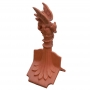 Column mini dragon finial