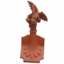 Column ridgeback dragon finial