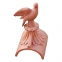 Dove finial half round ridge