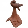 Dove preening roof finial