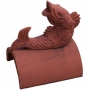Fish roof finial