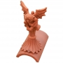 Gargoyle segmental finial