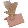 Hawk handpainted roof finial