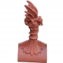 Mini dragon crest finial