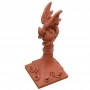 Mini dragon spire roof finial