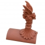 Mini roof dragon segmental finial