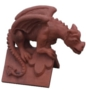Roof dragon ridge tile