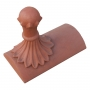 Old ball segmental cap finial