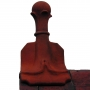 Victorian 4 leaf ball ridge finial