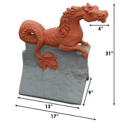 poseidon sea horse 2 tone measurements