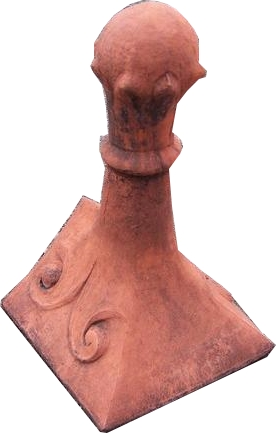 Block End Ridge Finials And Ornamental Ridge Tiles For Roofs