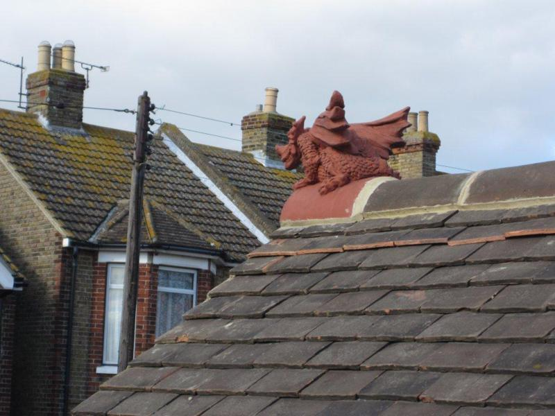 Half Round Roof Dragon In Kent