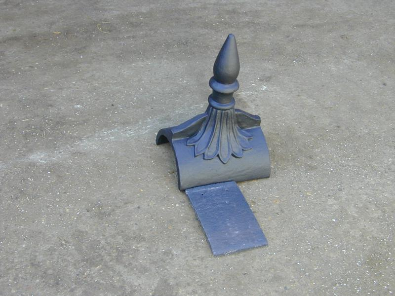 Marley Anthracite Roof Finial Colour Match